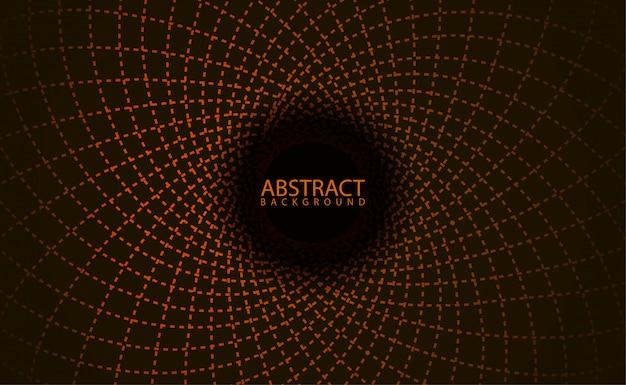 Geometrisches muster mit glüheffekt