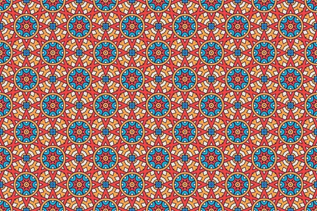 Geometrisches nahtloses muster, kreiselement