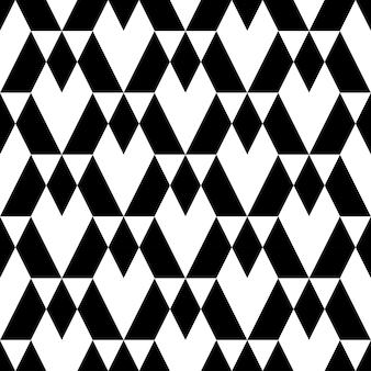Geometrisches nahtloses schwarzweiss-muster