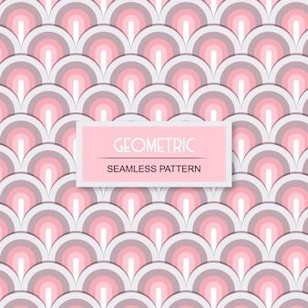 Geometrisches nahtloses transparentes muster