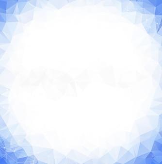 Geometrisches polygonales hintergrundmolekül und kommunikation