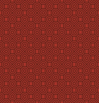 Geometrisches rotes muster