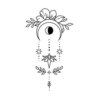 Geometrisches tattoo