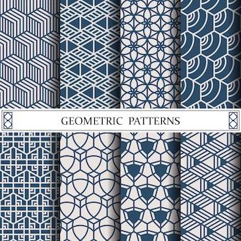 Geometrisches vektormuster