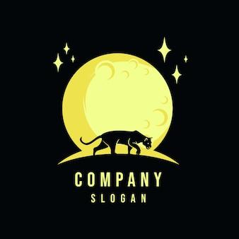 Gepard silhouett logo design