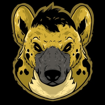 Gepard wütend kopf design