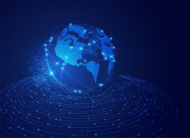 Gepunktete global