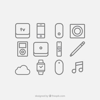 Geräte-icon-set