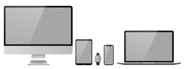 Geräte mit transparenten bildschirmen
