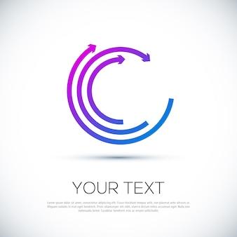 Geschäft abstraktes logo
