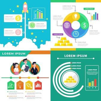 Geschäft infografik illustration