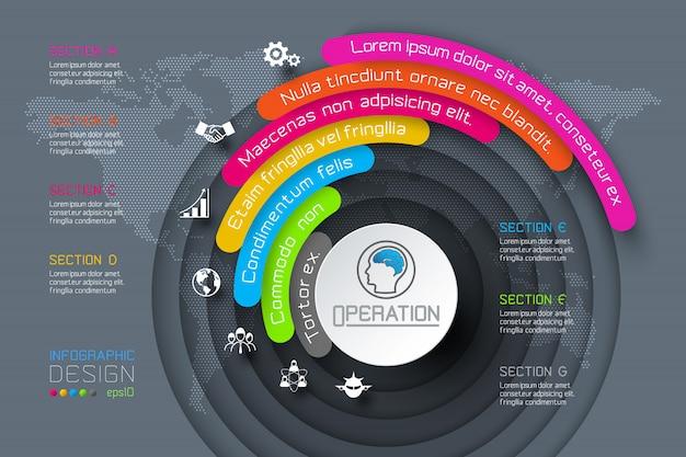 Geschäft infografiken
