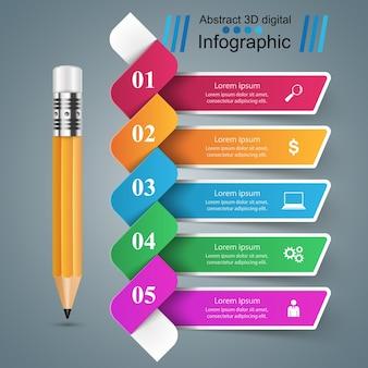 Geschäft infographic