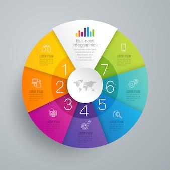 Geschäft infographik elemente