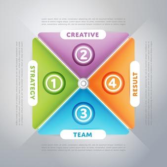 Geschäftliche infografiken