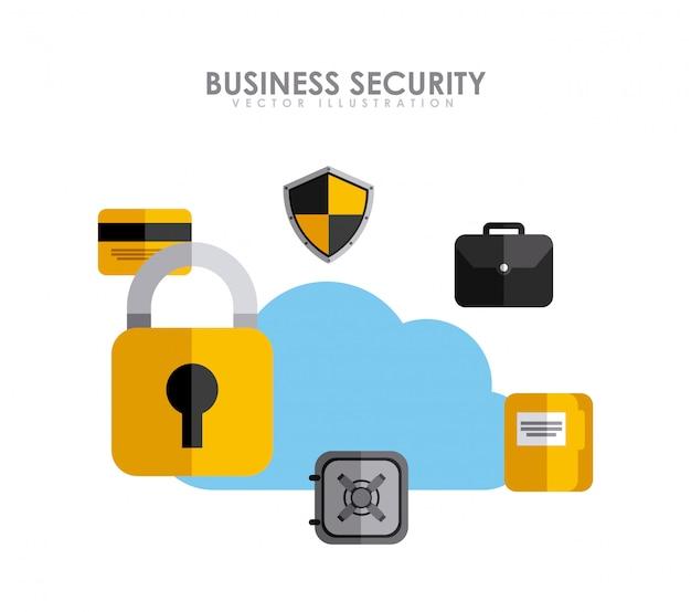 Geschäftliche sicherheit