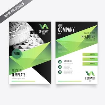 Geschäfts-broschüren-schablone
