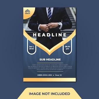 Geschäfts-flyer