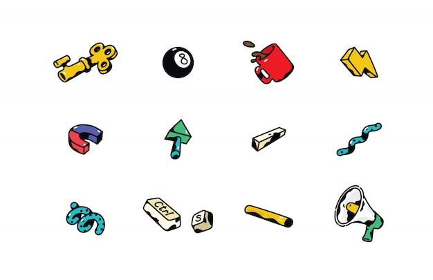 Geschäfts-ikonen.