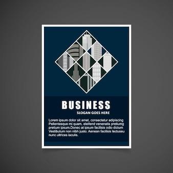 Geschäfts infogrpahic broucher