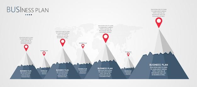 Geschäfts- und bildungsdiagramme