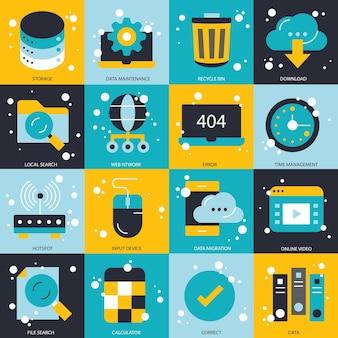 Geschäfts- und technologiekonzept