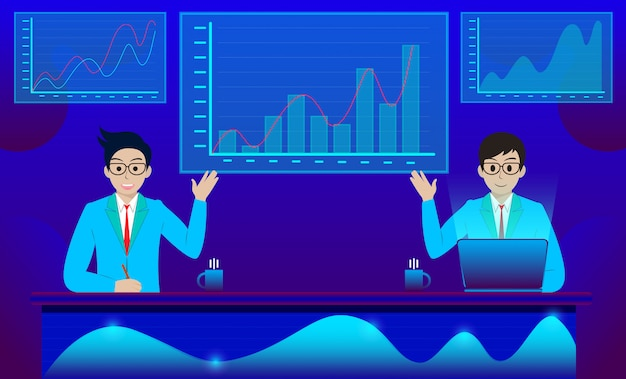 Geschäftsanalyse und kommunikation zeitgemäßes marketing und software für die entwicklung