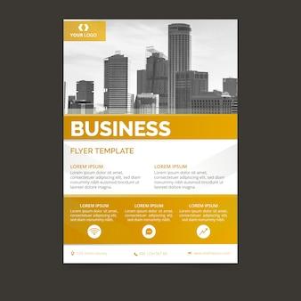 Geschäftsbericht mit foto