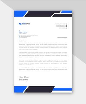 Geschäftsbriefkopfvorlage