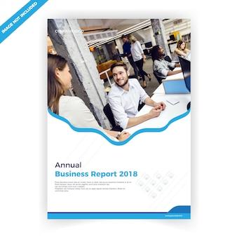Geschäftsbroschüre cover design-vorlage