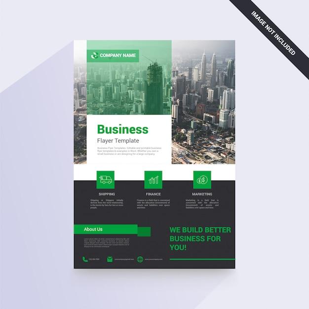 Geschäftsbroschüre für ihre firma