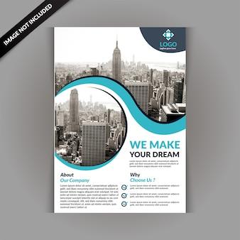 Geschäftsbroschüren-design