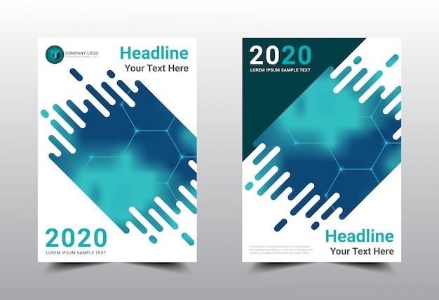 Geschäftsbuch cover template design.