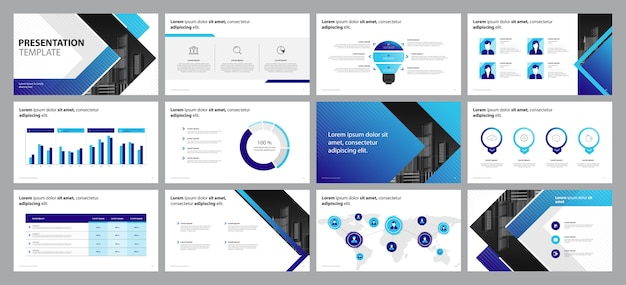 Geschäftsdarstellungs-konzept des entwurfes mit infographic elementen