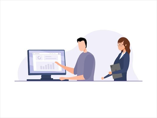 Geschäftsdaten analysieren und recherchieren