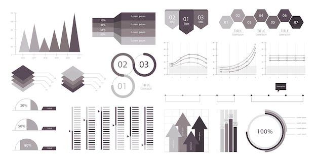 Geschäftsdiagramm infographic