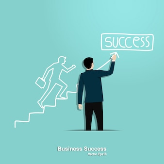 Geschäftserfolg konzept
