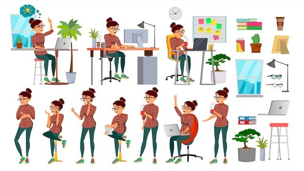 Geschäftsfrau Premium Vektoren