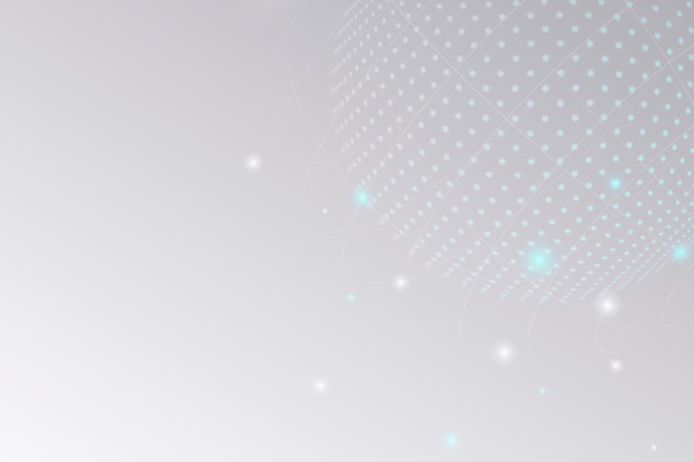 Geschäftshintergrund der digitalen rasterkreistechnologie