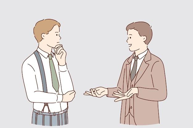 Geschäftskommunikations- und kompetenzkonzept