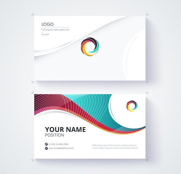Geschäftskontaktkarte