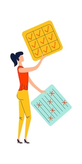 Geschäftskonzept für termin- und zeitmanagement
