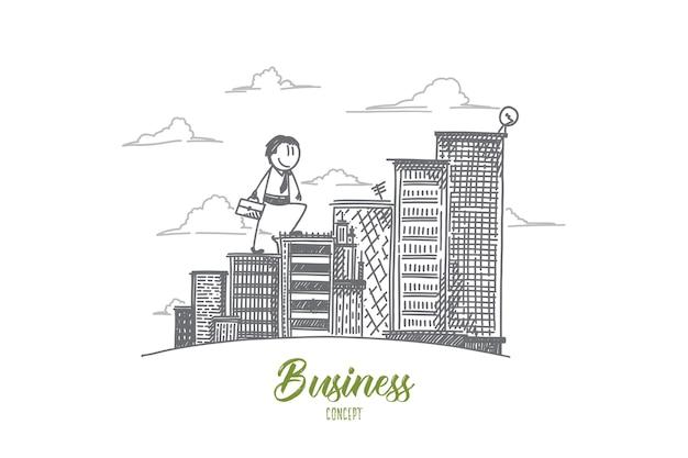 Geschäftskonzeptillustration
