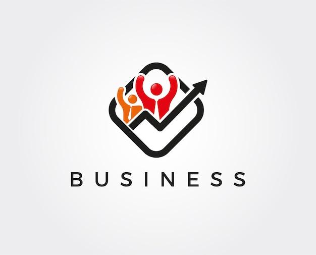 Geschäftsleute-logo-vorlage