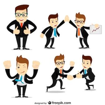 Geschäftsleute sammlung