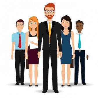 Geschäftsleute und unternehmer