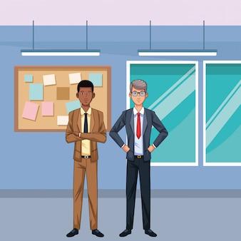 Geschäftsmann-avatar-cartoon-figur