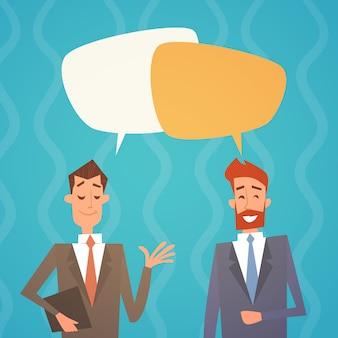 Geschäftsmann-gruppen-chat-blase-team-personal-kollegen