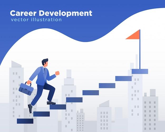 Geschäftsmann karriereentwicklung
