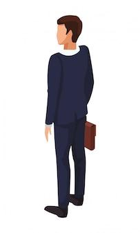 Geschäftsmann zurück avatar
